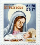 Infant Jesus and Mary