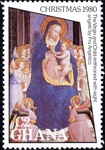 Virgin and Child enthroned with Eight Angels