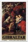 Holy Family under Apple Tree