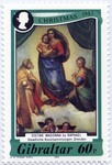 Sistine Madonna, vert