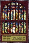 Stained-Glass Window - Last  Supper and Crucifixion