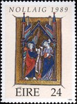 Miniature from a Flemish Psalter-13th century