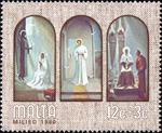 Nativity and scenes of Mary's Life