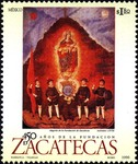 City of Zacatecas, 450th anniversary