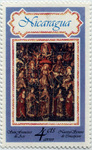 St. Francis and Franciscan saints, 15thy century tapestry