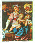 The Holy Family with Saints John and Anne