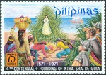Our Lady of Guia Appearing to Filipinos and Spanish Soldiers
