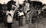 Procession of the Blessed Sacrament in Ghana, circa 1950