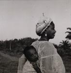 Woman and Baby, circa 1950