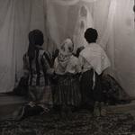 Children reenacting Fatima apparition, circa 1950