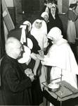 Nuns Receive Polio shots, circa 1945
