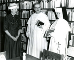 Rev. Egan, Sr. Mary Jean Dorcy, and Mary Reed Newland, circa 1960