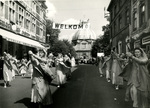 Procession of Our Lady in Scherpenheuvel, Belgium, circa 1950