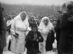 Servite Sisters with Pilgrim at Fatima, circa 1960