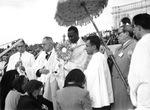 Bishop of the Belgian Congo Giving Benediction at Fatima, circa 1959