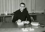 Fr. Roesch, President of the University of Dayton, circa 1960