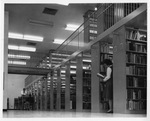 Interior of the Marian Library, 1965