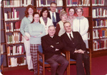Marian Library staff, March 1978