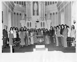 Student Choir in the Chapel, 1973