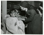 Marianist Sister and Student