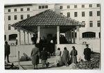 Pilgrims at Chapel of Apparitions