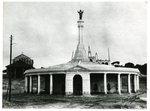 Sacred Heart Statue at Fatima by Alipio da Silva Vicente