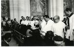 Monsignor Cento Annointing the Sick at Fatima