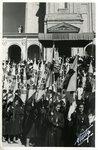 Jeunesse Feminine Members in Procession