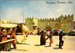 Damascus gate postcard