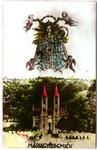 Mariagyudi church postcard