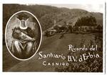 Santuario B. V. d' Erbia postcard