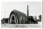 Santa Maria Reina church postcard