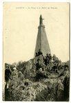 La Vierge et le Rocher des Fourches postcard