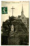 Le Calvaire et la Vierge postcard