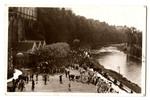 Pilgrims at Lourdes postcard