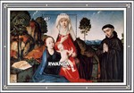 St. Anne with Virgin and Child and a Franciscan Monk