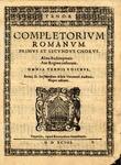 Completorium Romanum, Primus et Secundus Chorus: Alma Redemptoris, Ave Regina Coelorum