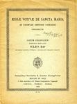 Missæ Votivæ de Sancta Maria