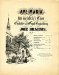 Ave Maria by Johannes Brahms