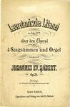 Lauretanische Litanei in A dur, No. 2 by Johannes Habert