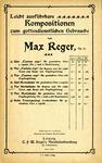 Vier Marienlieder by Max Reger