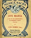 Ave María by Lluís Corominas