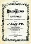 Rosarium Marianum: Salutatio Angelica no. 1-5