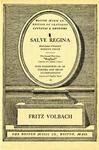 Salve Regina by Fritz Volbach