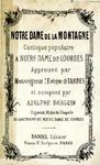 Notre-Dame de la Montagne (Cantique Populaire) by Adolphe Dargein
