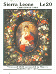 Virgin and Child surrounded by Flowers