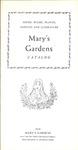 Mary's Gardens Catalog, 1955