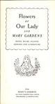 Mary's Gardens Catalog, 1958