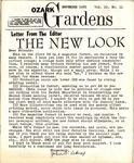 Ozark Gardens, November, 1965