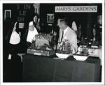 John Stokes with Nuns at Mary's Gardens Exhibit, circa 1965